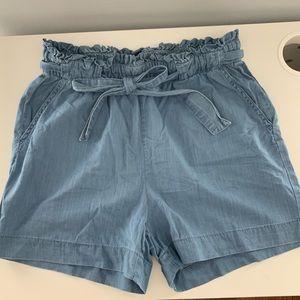 Denim Fabric Jean Shorts